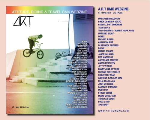 ART BMX web#7 contenu