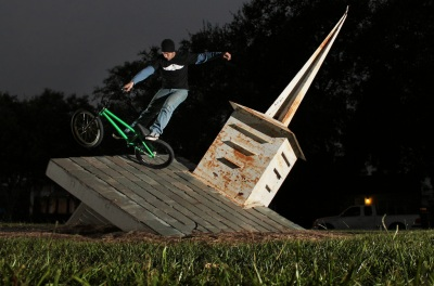 Brian Perry. church roof lawnmower